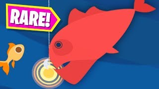 CATCHING A RARE GIANT RED FISH - Cat Goes Fishing Part 2 | Pungence