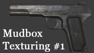 Mudbox Texturing #1 - Introduction