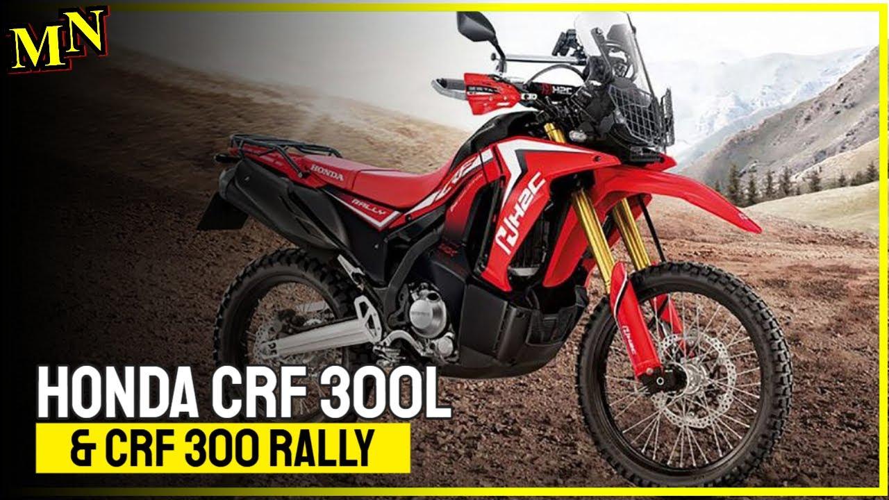 Honda CRF 300L and CRF 300 Rally
