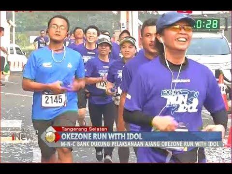 MNC Bank Dukung Acara Okezone Run with Idol di Tangsel - BIP 07/08