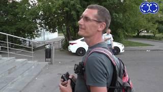 Нарушители на тротуаре. Работают активисты 2