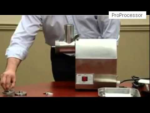 Assemble of Meat Grinder a Video Turorial