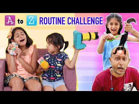 A to Z ROUTINE Challenge | MyMissAnand