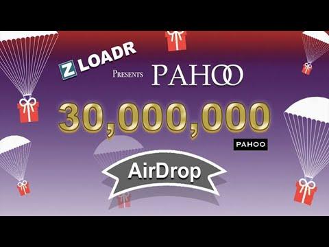 Já Listado na Vindax  , Ganhe Grátis pelo menos U$12 Dólares no Airdrop Bot Pahoo !