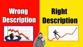 Wrong Description (VS) Right Description | How to Write best description in YouTube Video