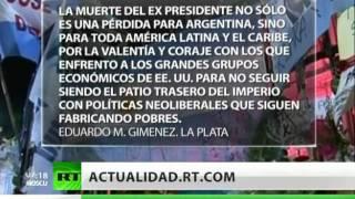 Argentina Se Despide De Néstor Kirchner Con Llantos Y Suspiros