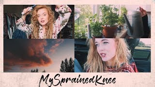 Life With A Sprained Knee | Weekly Vlog