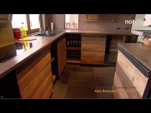 Cuisine en bois - keuken in hout