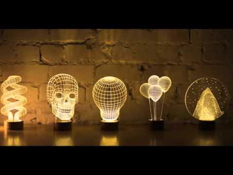 Diseños de Lámparas Creativas que Amarías Tener en tu Casa