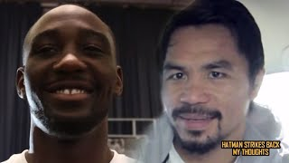 TERENCE CRAWFORD VS MANNY PACQUIAO - NOVEMBER 14??!!