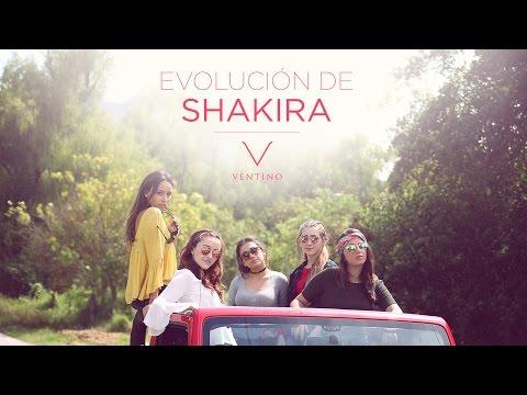 La Evolución de Shakira - Ventino - VIA 712