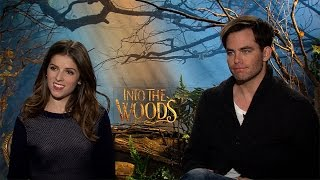 "Anna Kendrick and Chris Pine Chat ""On the Steps of the Palace"" for Disney's Into the Woods"