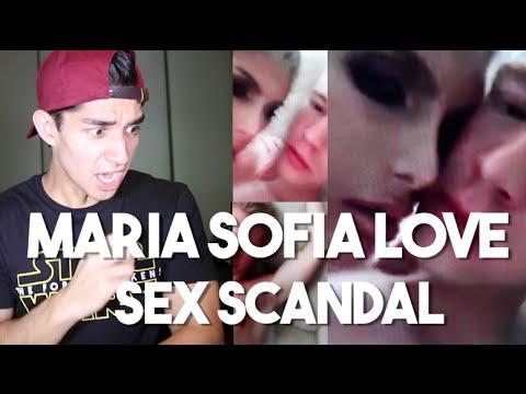 Maria Sofia Love Sex Scandal (Video plus Reaction)