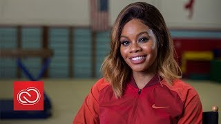 Gabby Douglas On Triumphing Over Adversity: Stay Strong And Be Powerful | Adobe Creative Cloud