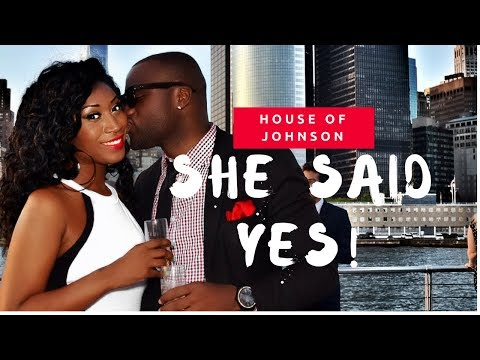 SHE SAID YES! SURPRISE PROPOSAL!!! LOVE & NEW YORK - TRACI & COREY
