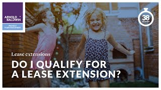 Do I qualify for a  lease extension?