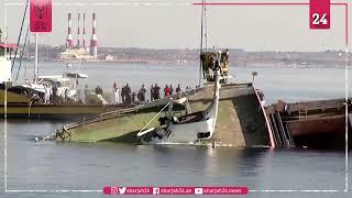 قبرص تُغرق سفينة شحن قبالة سواحل لارنكا لتكوين حيد مرجاني صناعي