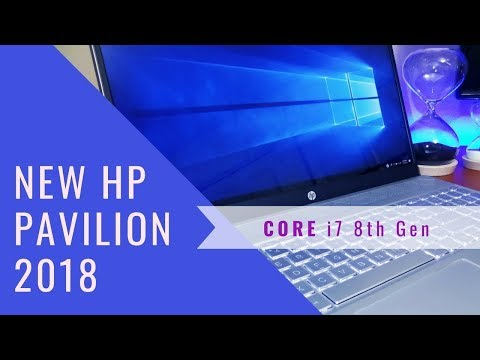 New 2018 HP Pavilion 15 i7 8th Gen Notebook Unboxing