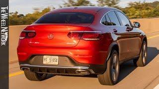 2020 Mercedes-Benz GLC 300 4MATIC Coupe | Designo Cardinal Red | Driving, Interior, Exterior (US)