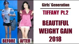 SNSD Tiffany Young - Inspiring Weight Gain 2018 (Girls' Generation)