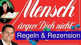 Mensch ärgere Dich nicht (Brettspiel) / Anleitung & Rezension / SpieLama