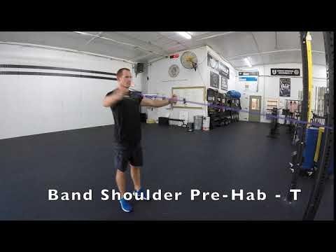 Band Shoulder Pre-Hab - T