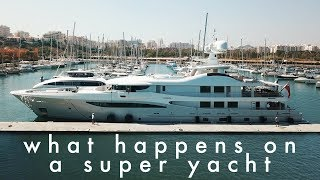 Have you ever wondered what yacht crew actually do? #yachtlife