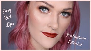 Red Lips Instagram Tutorial