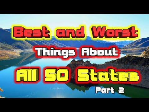 Best and Worst of all 50 States. Part 2