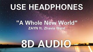 "ZAYN, Zhavia Ward   A Whole New World (End Title) (from ""Aladdin"") (8D AUDIO)"