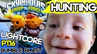 Skylanders Swap Force Hunting: Lightcore Bumble Blast (Collection Complete!) Pt. 16
