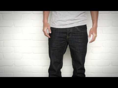 Christian Rocks The Slim Straight Jean