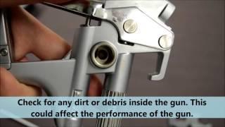SATA 5000 Spray Fan Control Remove and Refit