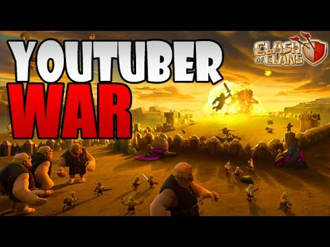 JUNE 2017 UPDATE SNEAK PEEK SUPERCELL vs YOUTUBERS WAR   Clash of Clans