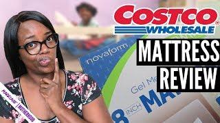 Costco Mattress Review | Novaform 8inch Memory Gel | BUNK BED MATTRESS | UNBOXING
