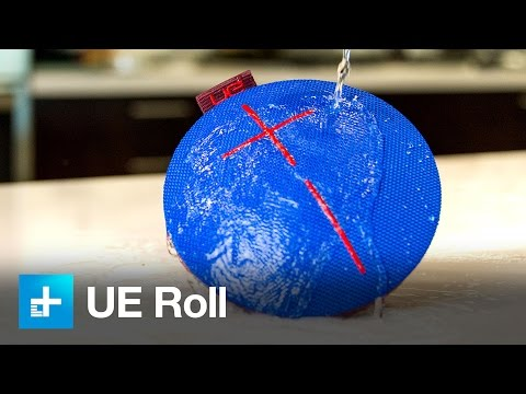 UE Roll Bluetooth Speaker - Hands on Review and Dunk Test
