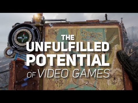 The Unfulfilled Potential of Video Games