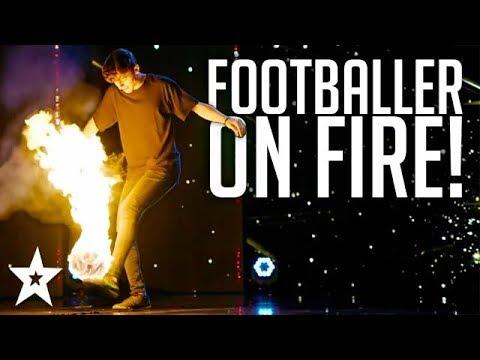 הכדורגל הבוער: מופע פעלולים מסעיר