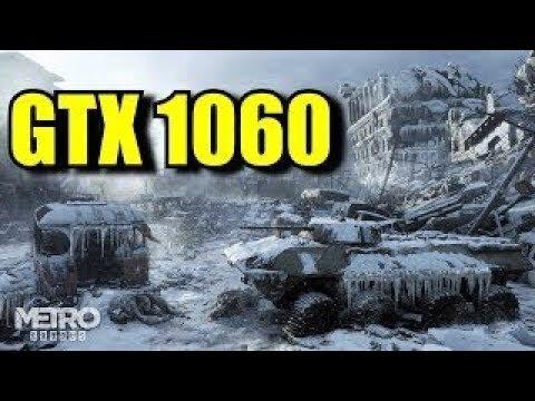 GTX 1060 Gameplay: Metro Exodus (Core i3-3220)
