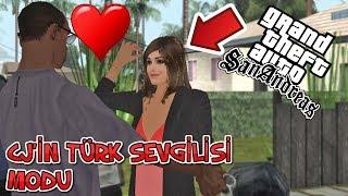 CJ'İN TÜRK SEVGİLİSİ MODU - GTA SAN ANDREAS GERÇEK HAYAT