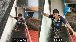 Iphone 5s vs Xiaomi Mi A1 - Camera Comparison