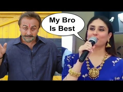 Kareena Kapoor Sweet Reaction On Ranbir Kapoor Sanju Reaction