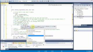 Computing the FFT and the IFFT in a C# application using an FFTW wrapper written by Tamas Szalay. FFTW (the Fastest Fourier Transform in the West) certainly ...