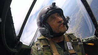 video: Silver Spitfire pilot log weeks 8 and 9: calmer skies ahead as our men escape the chaos of typhoon season