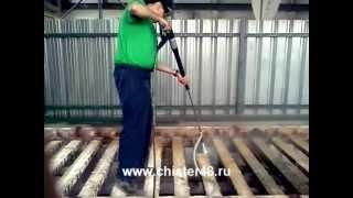 Пескоструйная насадка от компании Karcher и Nilfisk Alto - видео