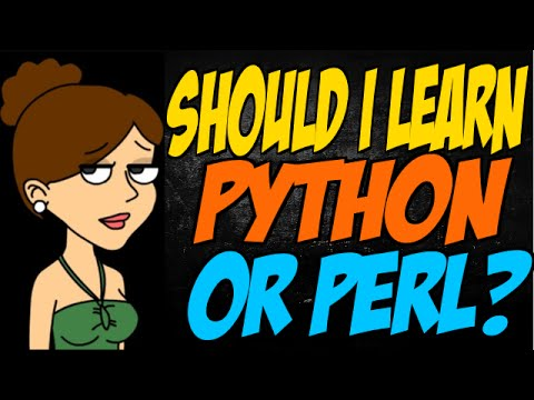 Should I Learn Python or Perl?
