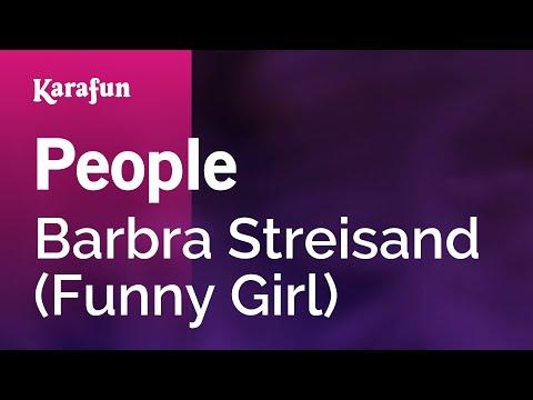 Karaoke People - Barbra Streisand *