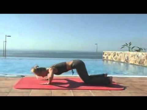 Ejercicios De Pilates Para Adelgazar - Trabajo Sobre La Estera