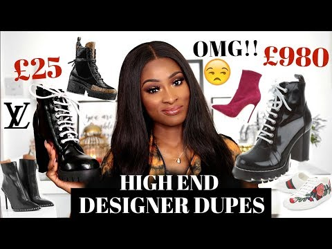 LOUIS VUITTON LEGIT TRIED TO ROB ME!! BEST DUPES UNDER £50!!!