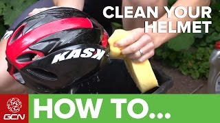 How To Clean Your Bike Helmet